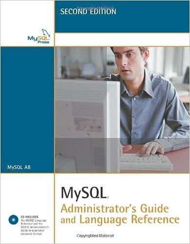 mysql administrator s guide mysql ab