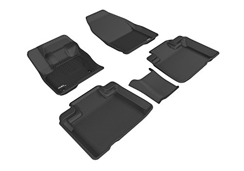 3D MAXpidder Complete Set Custom Fit All-Weather Floor Mat for Select Ford Edge Models