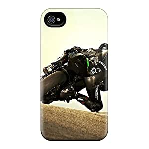 For Free Walking Iphone Protective Case, High Quality For Iphone 4/4s Kawasaki Skin Case Cover