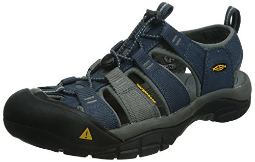 KEEN Men's Newport H2 Sandal, Midnight Navy/Neutral Gray, 10 M US