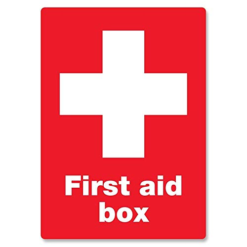 - WINDST Personalised First Aid Box 11.8 X 7.9 in Vintage Metal Tin Sign Plaque Wall Art Poster Decoration