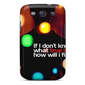 Excellent Galaxy S3 Case Tpu Cover Back Skin Protector True Love