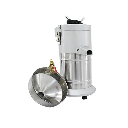 Commercial Aluminum Alloy Healthy Nutrition Soy Milk Maker Soybean Milk Machine Maker Commercial Soymilk Maker 35kg/h Output by SAVEMORE4U18 (Image #3)'