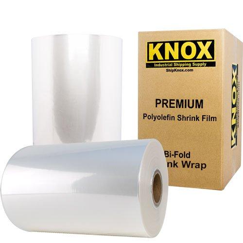 Shrink 100 Film Polyolefin Gauge - Knox Brand - 16