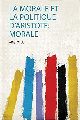 Morale Politique D'aristote