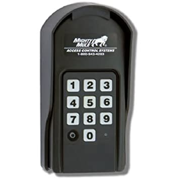 amazon com mighty mule wireless or wired digital keypad fm137 mighty mule wireless or wired digital keypad fm137