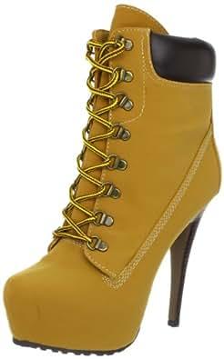 ZiGiny Women's Jubilee Boot,Tan Faux,9.5 M US