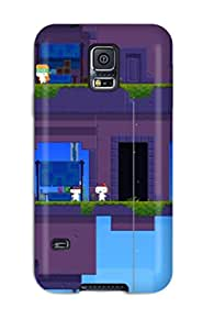 Excellent Design Fez Playstation Game Phone Case For Galaxy S5 Premium Tpu Case