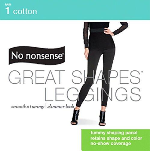 e6b829595bd90 No Nonsense Women's Cotton Shaping Legging at Amazon Women's Clothing store: