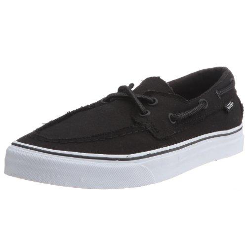 Vans U ZAPATO DEL BARCO VXC3NWD - Zapatos de tela para hombre Black/True White