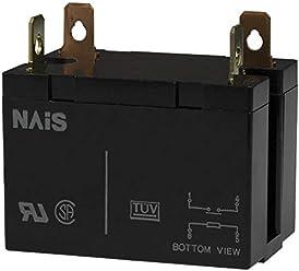 115VAC PLUG IN DPDT 7A PANASONIC EW HC2-H-AC115V-F POWER RELAY