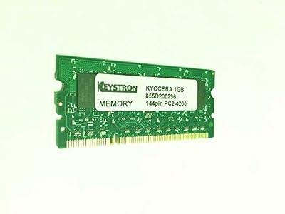 Copystar 1GB Memory Upgrade for Kyocera Printers by Keystron (OEM p/n: 855D200296 or SD-144-1A) from Keystron, LLC