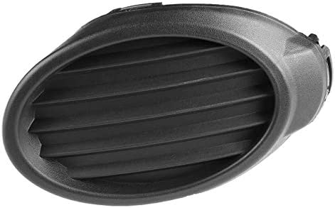 DAT AUTO PARTS Fog Light Hole Cover Replacement for 2012-2013 Ford Focus for S and SE Models Without FOGS Right Passenger Side Black FO1039116