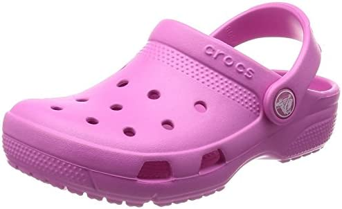 Crocs Kids Unisex Coast Clog Party Pink 7 M US Toddler Toddler//Little Kid