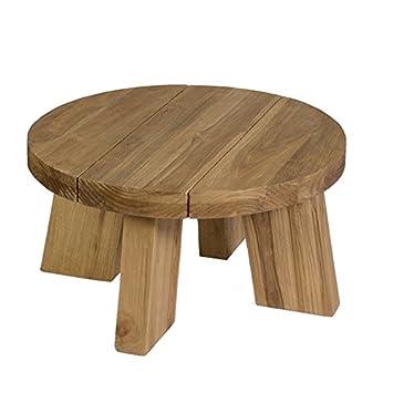 Table ronde teck Thomas O 60 cm: Amazon.fr: Jardin
