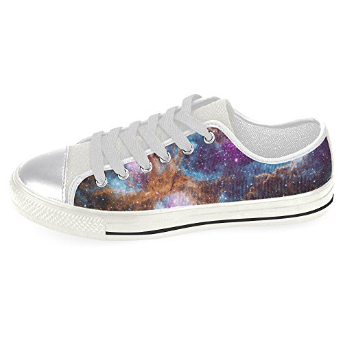 InterestPrint galaxy Classic Canvas Shoes for Women