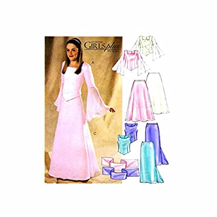 31639664bd5 Image Unavailable. Image not available for. Color  MCCALLS PATTERN 4246  GIRLS AND GIRLS PLUS TOPS
