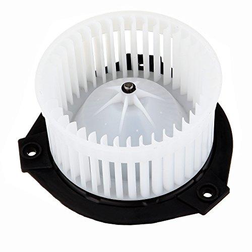 Envoy Heater Gmc (HVAC plastic Heater Blower Motor w/Fan Cage ECCPP for 2002-2009 Chevrolet Trailblazer 2002-2009 GMC Envoy 2005-2009 Saab 9-7x)