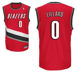 ... aliexpress damian lillard portland trail bllazers red nba youth  revolution 30 replica jersey small 8 5606c 931fb00e224b