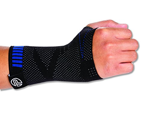 (Pro-Tec Athletics 3D Compression Wrist Sleeve, Large/X-Large)