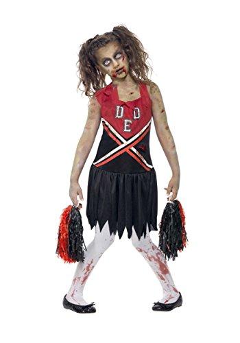 Dallas Cowboy Cheerleader Halloween Costume Girl (Zombie Cheerleader Teen)