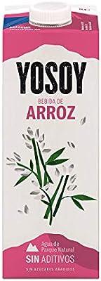 Yosoy - Bebida de Arroz - Caja de 6 x 1L: Amazon.es ...