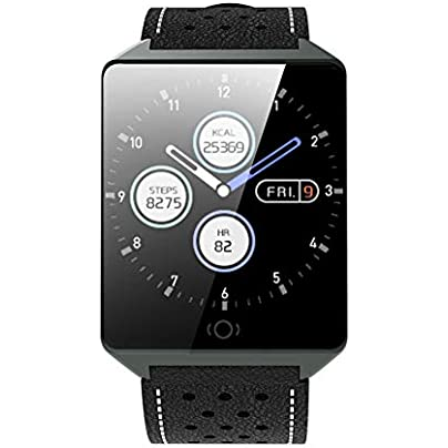 ZCPWJS smart wristband CK19 Smart Bracelet Pedometer Multi Sports Mode Fitness Tracker Heart Rate Sleep Monitor Call Remind Remote Control Smart band Black Estimated Price £64.60 -