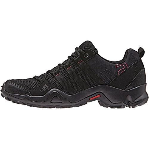 Adidas+Sport+Performance+Women%27s+AX2+Hiking+Sneakers%2C+Black%2C+Textile%2C+Rubber%2C+8+M