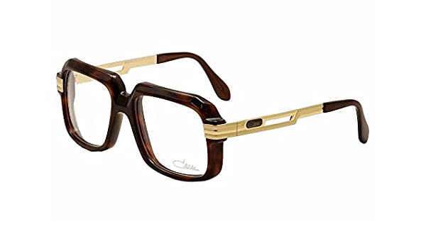 d01479a159 Amazon.com  Cazal 607 2 080 Brown Gold Eyeglasses 56 mm  Health   Personal  Care