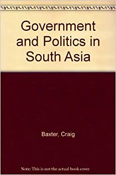 Book Government and Politics in South Asia