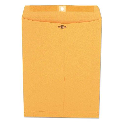 (Universal 42907 Kraft Clasp Envelope, Center Seam, 32lb, 9 1/2 x 12 1/2, Brown Kraft, 100/Box)