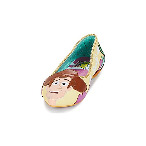 Irregular Pink Disney Flat Pink Story Yellow Yellow Toy Round Shoes up Choice Gang rRq6wr