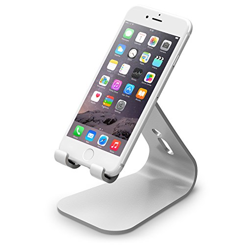 elago M2 Stand [Silver] - [Premium Aluminum][Angled for Video Calls][Cable Management] - for all...