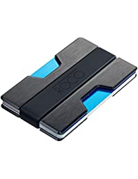 MINIMALIST Aluminum Slim Wallet RFID BLOCKING Money Clip - No.2