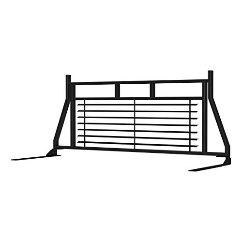 ARIES 111001 Classic Heavy Black Steel Truck Headache Rack Cab Protector for Select Ford F-250, F-350 Super Duty