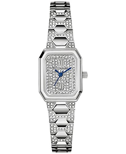 (Wittnauer Women's WN4053XG Quartz Crystals Pave Dial 14mm Watch (Certified Refurbished) )