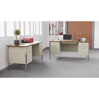 Alera Double Pedestal - Alera Double Pedestal Steel Desk