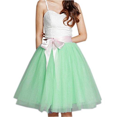 Vintage Vert Couches Courte Jupe Tulle ud CoutureBridal N 5 avec 50 de Annes Tutu Femme voile Jupon HPTawqwO4