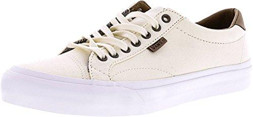 Sneakers Corte Uomo Tondo Canvas Sneakers Grigio Classico Bianco / Bianco