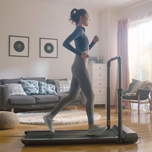 WalkingPad R1 Pro Treadmill Running and Walking. A Truly Foldable That Takes 90% Less Space