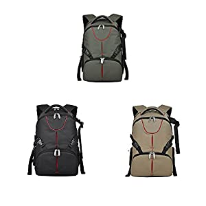 Camera Bag,Multiple Function Professional Waterproof Large Capacity Outdoor Travel Business Photography Men Women Unisex Laptop Backpack Hiking Daypack YUIOP