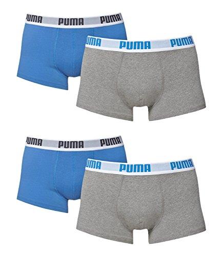 Blu Colori Boxer Sotto Uomo Pantaloni Da Nero Basic Puma Pack Grigio 521025001 4 In Pantaloncini Diversi aPn4xWx