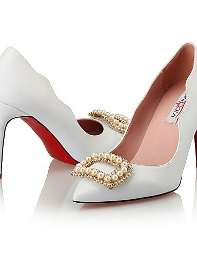 GGX/Damen Schuhe Leder/Synthetik Heels/Styles Heels Hochzeit/Party & Abend/Kleid Stiletto heelcrystal white-us5.5 / eu36 / uk3.5 / cn35