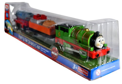 Percy Battery Powered Engine (Fisher Price Year 2010 Thomas and Friends As Seen On