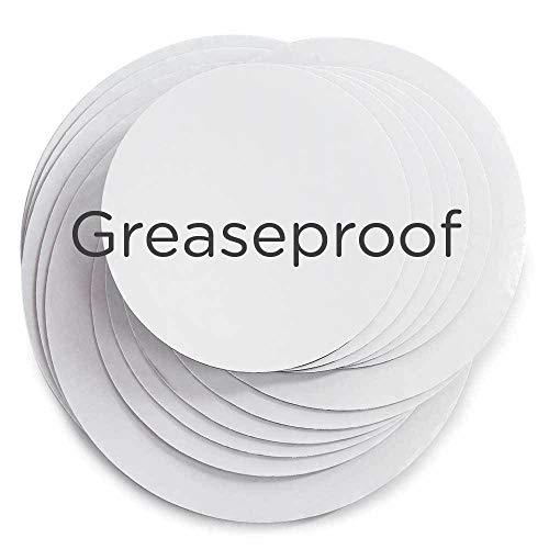 (Cakegirls Cake Board Circles - Grease Proof 12