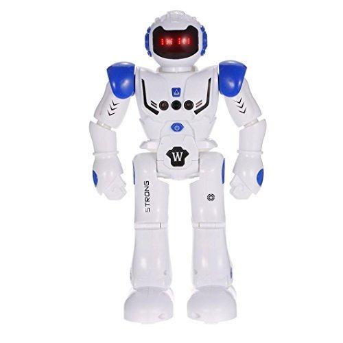 leegor ht9930–1インテリジェントなプログラミングジェスチャSensing LEDダンスロボットRCおもちゃforキッドインタラクティブおもちゃ誕生日クリスマスギフト 29.8 X 23.1 X 9.8cm レッド Leegor-308152