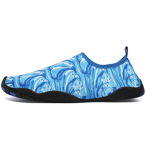 Cior Multifunktionella Barfota Skor Män Kvinnor Snabbtorkande Vatten Skor Aqua Strumpor För Stranden Poolen Surf Yoga Ljus Blue03