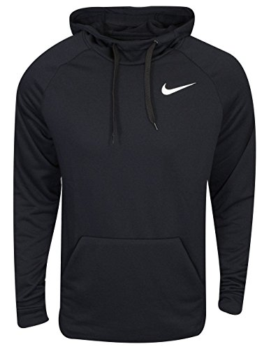 Nike Mens Dry Fleece Pull Over Hoodie Black/White 860469-010 Size 2X-Large