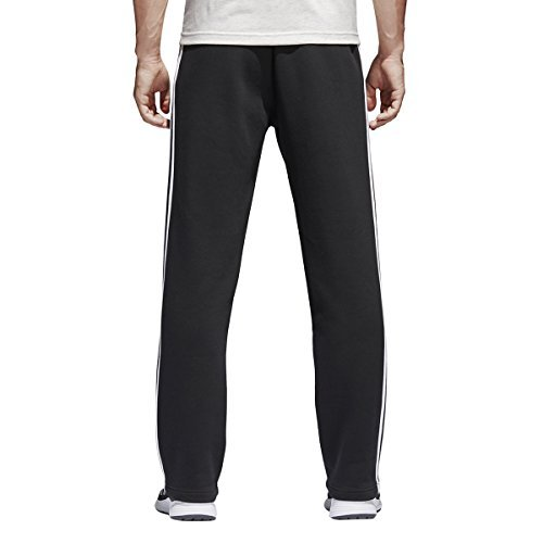 adidas Men's Essentials 3 Stripe Regular Fit Fleece Pants