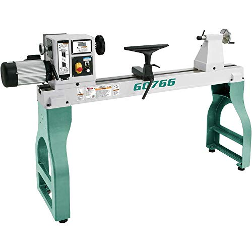 Grizzly Industrial G0766-22″ x 42″ Variable-Speed Wood Lathe